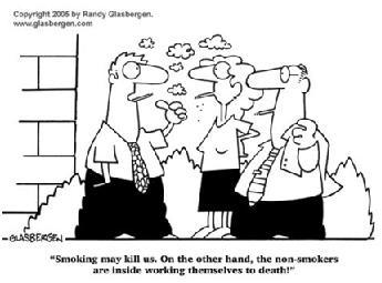 吸煙的壞處和不吸煙的壞處