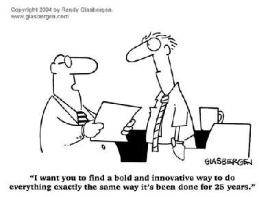 擁有大膽的創新思想