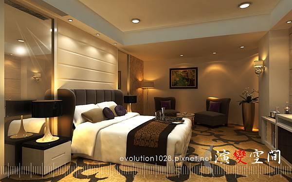 酒店-家庭40坪臥室