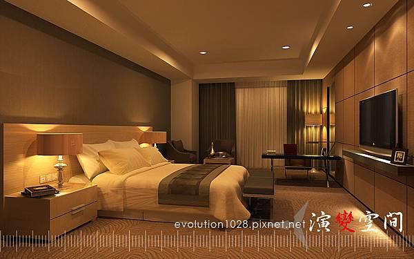酒店-家庭50坪臥室