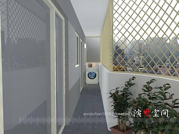 胡公館-陽台