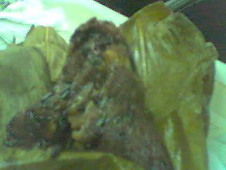 紫糯米肉粽