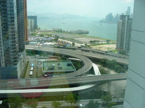 從飯店外看到的風景