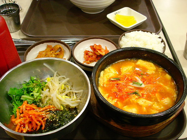 豆腐鍋拌飯套餐