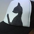 手繪貓帽子