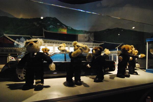 青瓦臺之泰迪熊