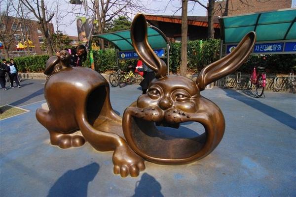 好可愛的龜兔賽跑