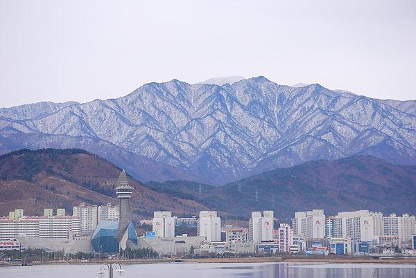 雪嶽山 好漂亮