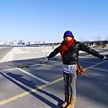 非常冷的漢江公園