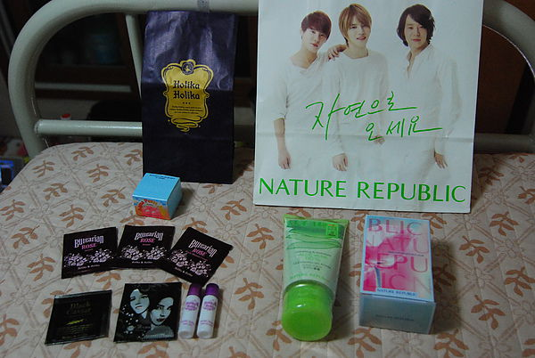 Holika Holika CN BLUE代言 NATURE REPUBLIC JYJ代言
