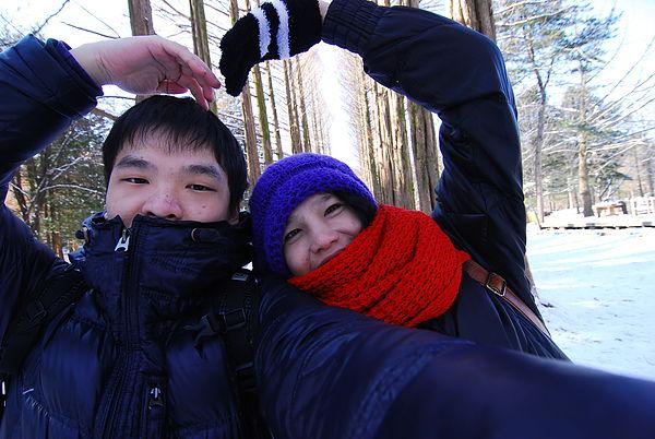 韓國人教外國人的拍照POSE 我又學過來了