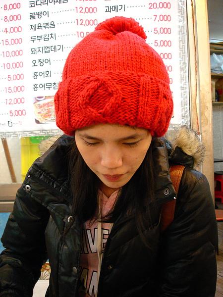 我忘記綠豆餅的韓文叫啥了 所以 我對店員說1박 2일 他就知道了 XD