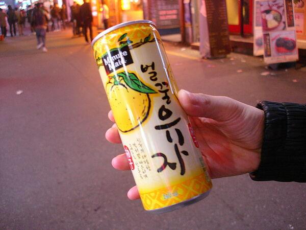 柚子茶 1,000w