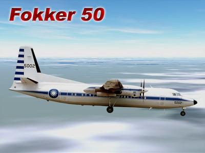 福克50行政專機   Fokker 50