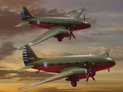 C-46 突擊隊式運輸機