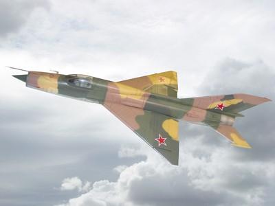 MiG-21 魚床式戰鬥機 Fishbed