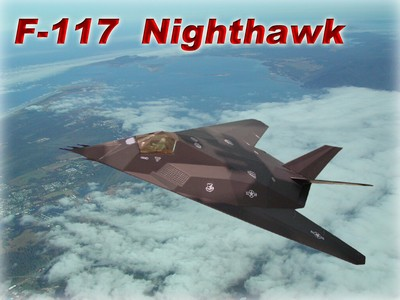 F-117 夜鷹式戰鬥機 Nighthawk