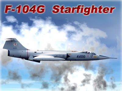 F-104G 星式戰鬥攔截機