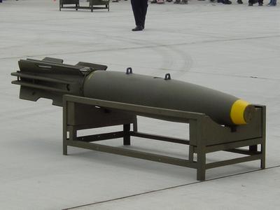 Mk82SE 蛇眼式500磅阻力炸彈