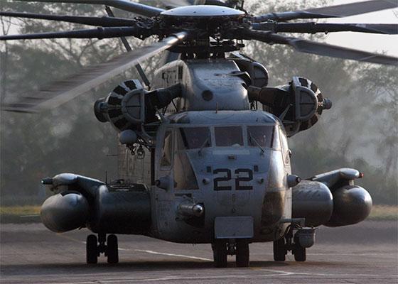 CH-53E 超級種馬重型軍用運輸直升機