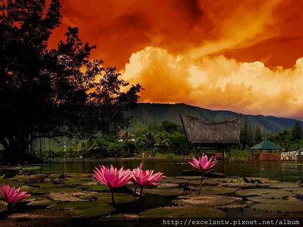蘇門答臘托巴湖