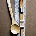 SGS檢驗環保台灣印象雷雕美食TAISO木製竹製筷子湯匙組