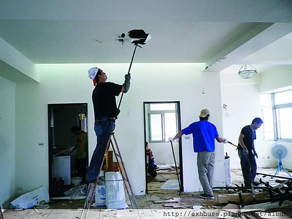 中古屋裝潢第一步:拆除工程