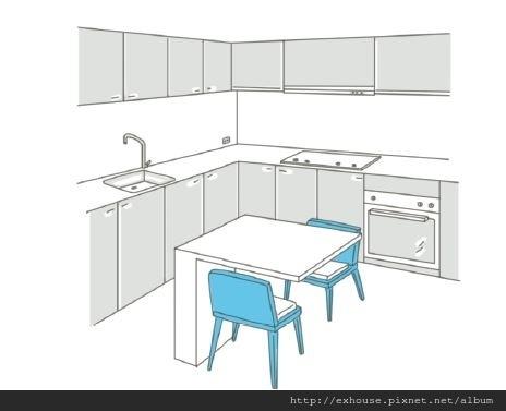 現在餐廳設計,比例對了整個家都放大了