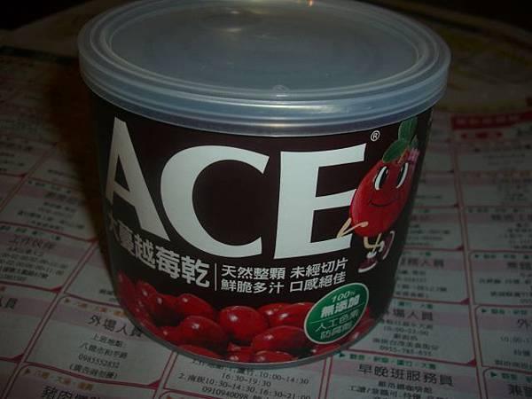 宜果國際公司 ACE大蔓越莓乾 (1).JPG
