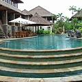 villa的泳池