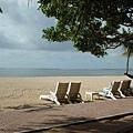 第一天飯店的海邊