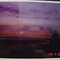 淡水的夕陽近照
