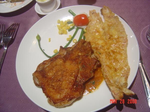 WENO的明蝦雞排