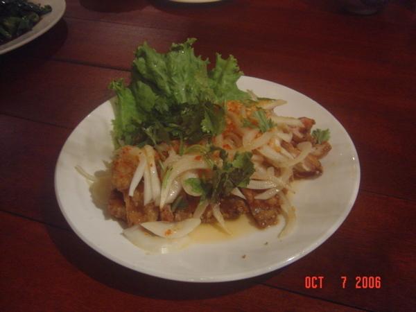 泰式酸辣雞