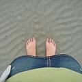 許安說我們都愛照腳