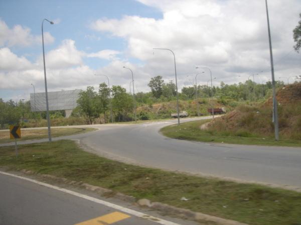沙巴的道路