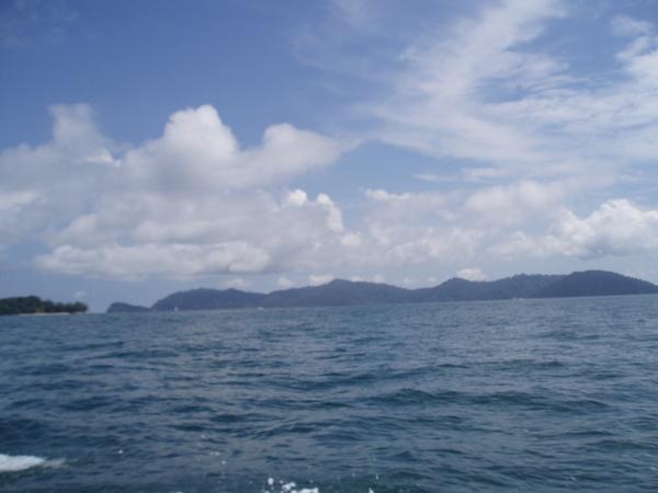 藍藍的天,白白的雲
