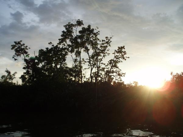 沙巴夕陽1