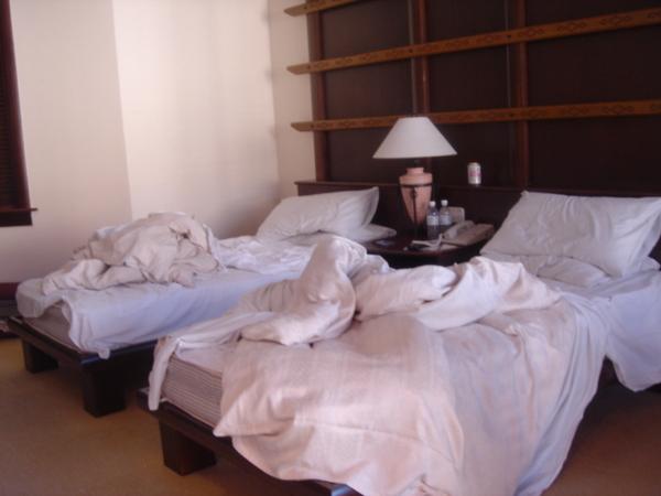 最後一天的床