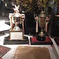 紅葉的冠軍獎盃