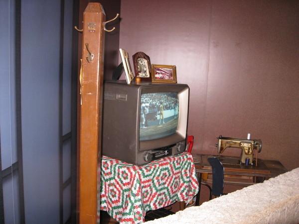 仿照早期家庭的客廳景象