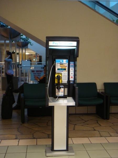 關島的公共電話