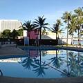 飯店的泳池