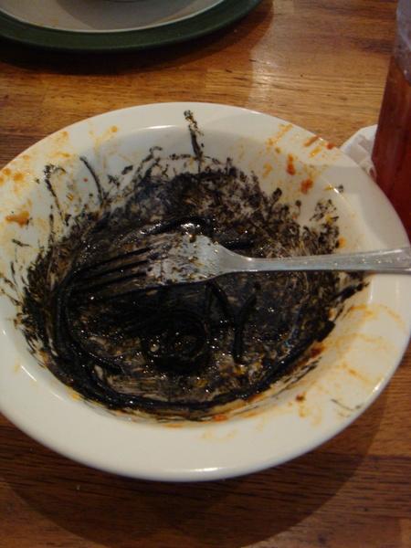 有夠黑的墨魚麵