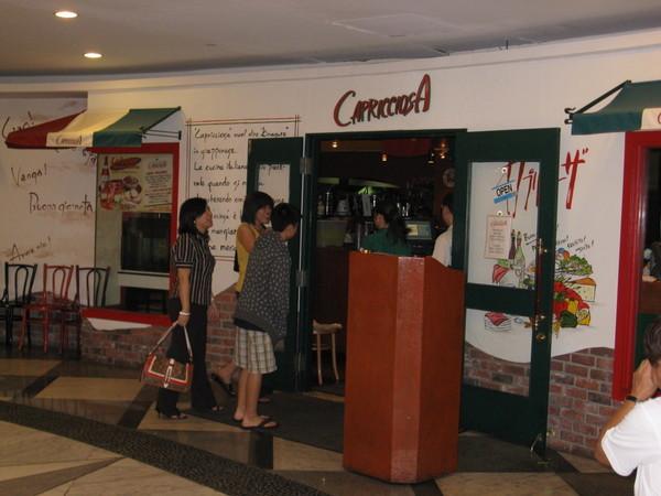 這是午餐的Capricciosa餐廳