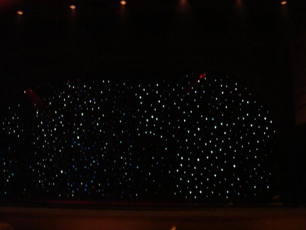 滿天星光的佈景