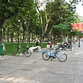 早晨越南街道