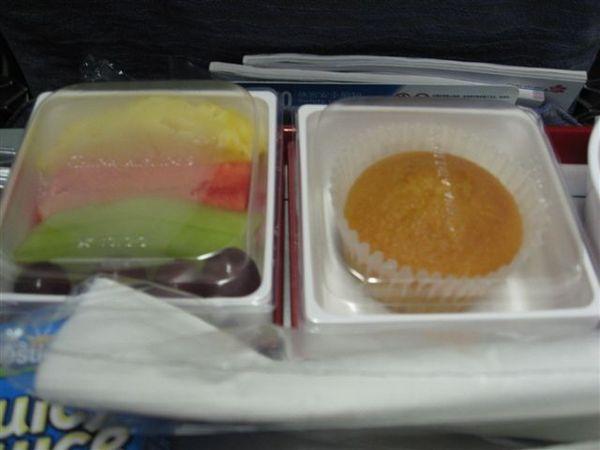 但是飛機餐還是要吃