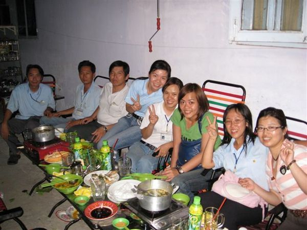 越南的生管同事們