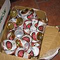 一夥人喝的333啤酒
